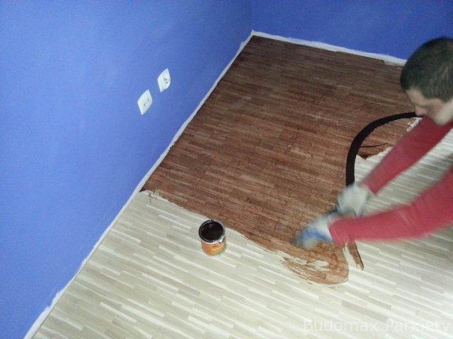 Zmiana koloru schodów drewnianych
